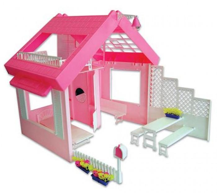 Кукольный Домик Огонек в чемоданчике для куклы Дом для кукол в
